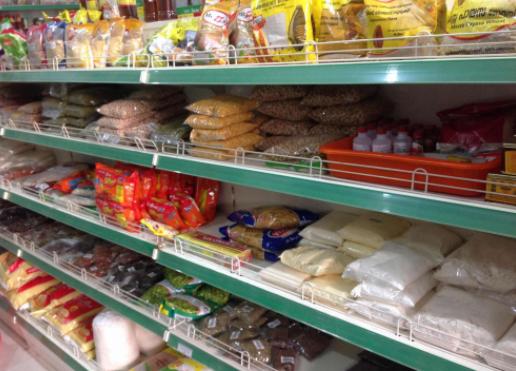 مشروع تجارة المواد الغذائية