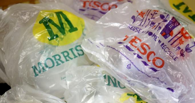 مشروع توزيع الاكياس البلاستيك