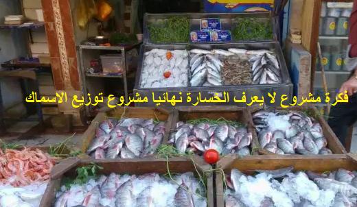 مشروع توزيع السمك