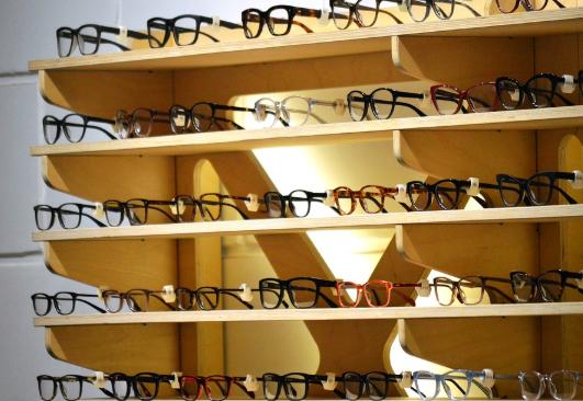 مشروع محل بيع نظارات