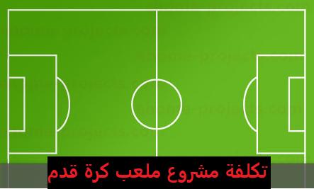 دراسة جدوى مشروع ملعب كرة قدم في السعودية